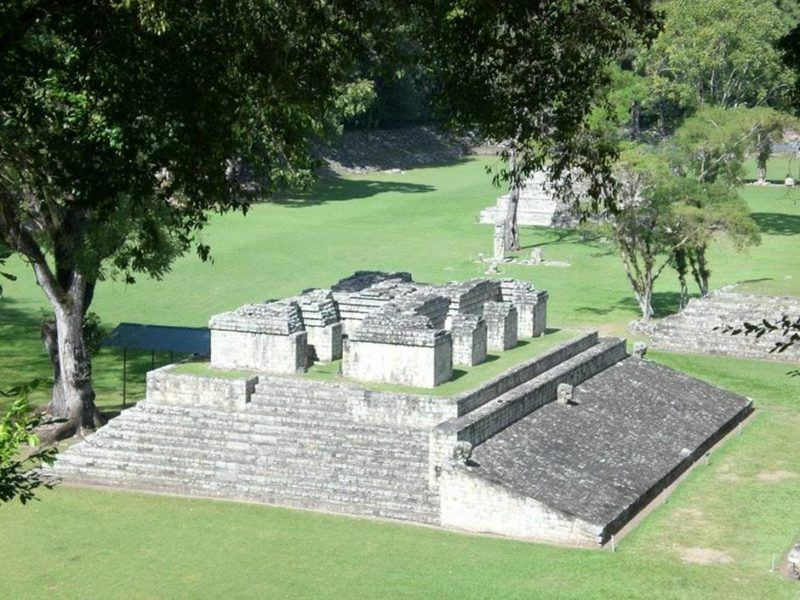 Tourist attractions in Honduras: Beautiful archeological site immersed in the jungle