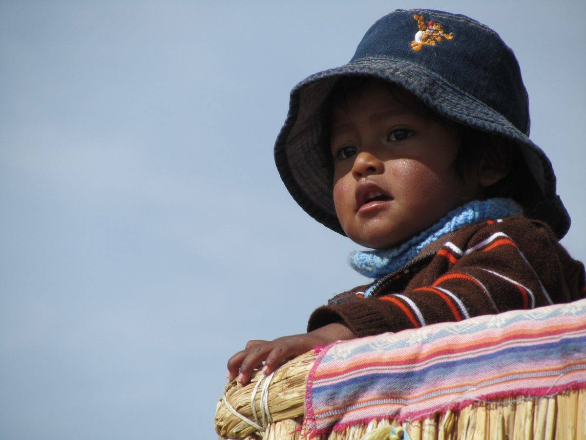 Children in Peru