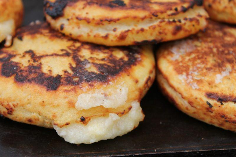 Arepas in Colombia