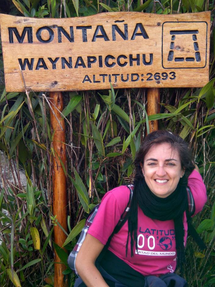 Tired but happy, I finally reached Huayna Picchu