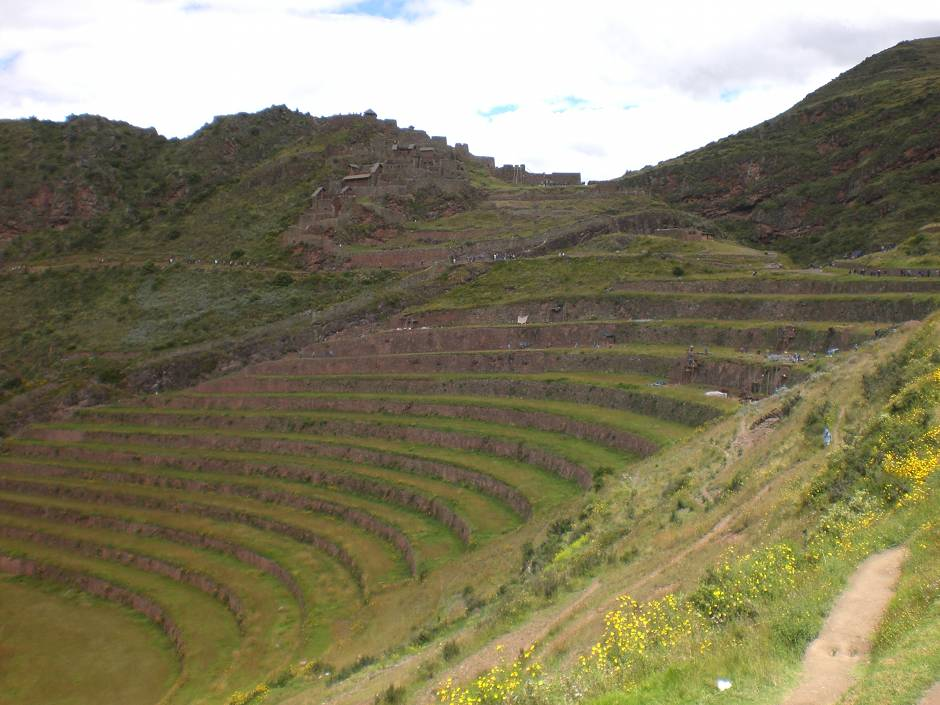 Terraces in Pisac