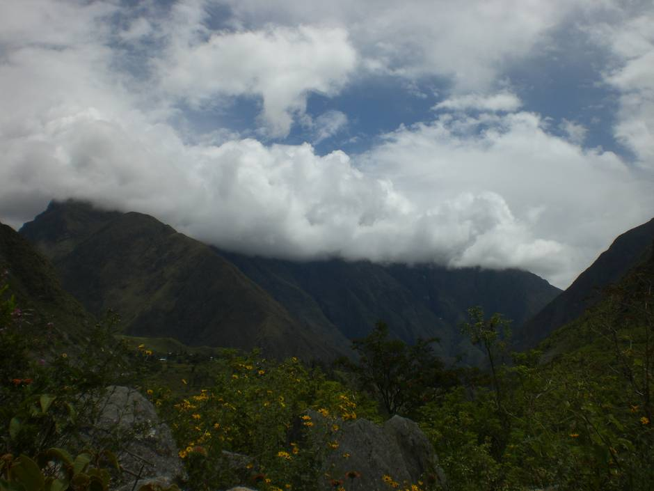 Hiking the Inca Trail is one of the things to do in Peru: what an amazing view!