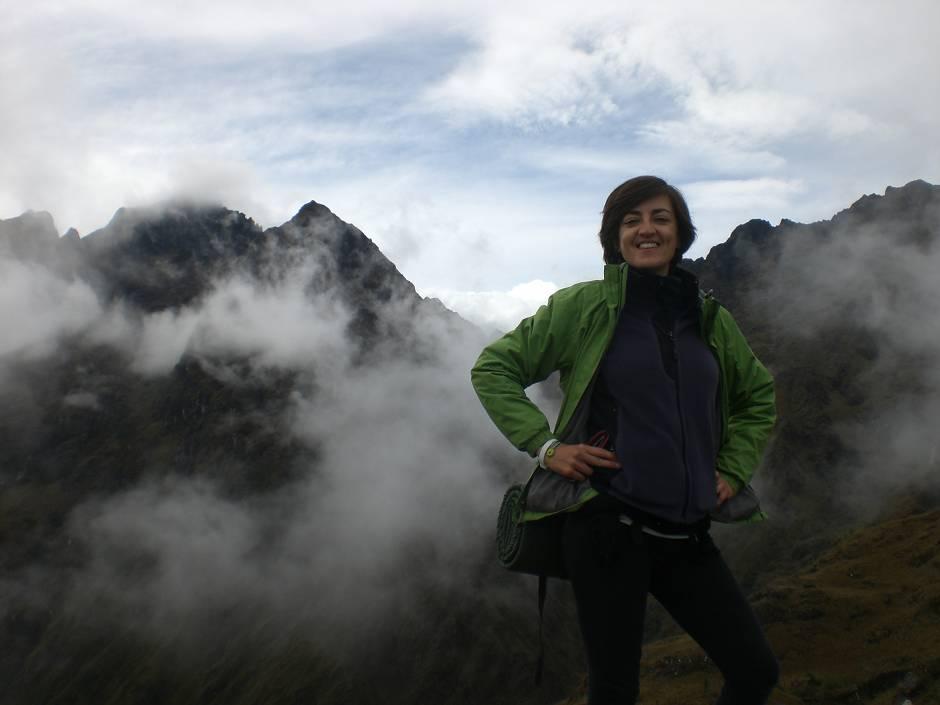 Inca trail weather behind!
