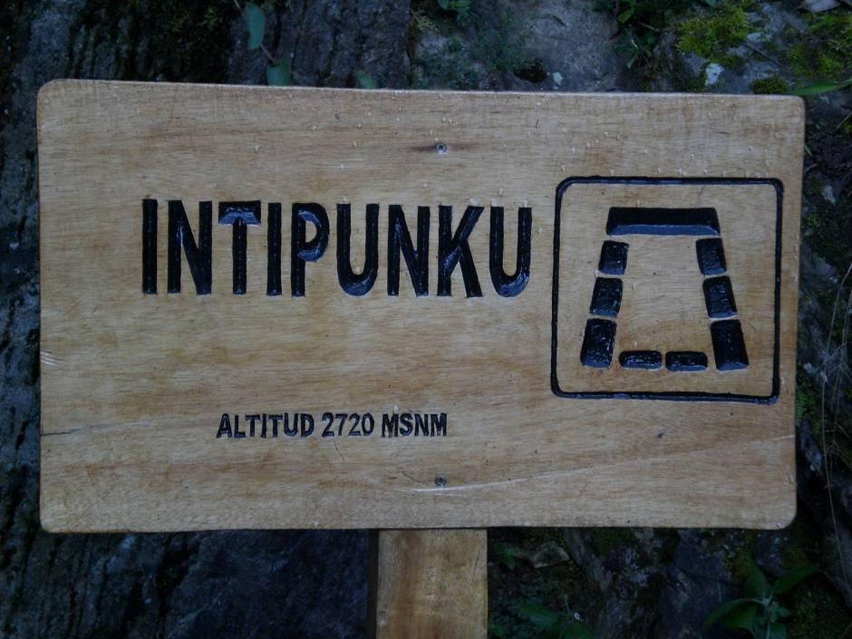 Day 3 - finally at Inti Punku