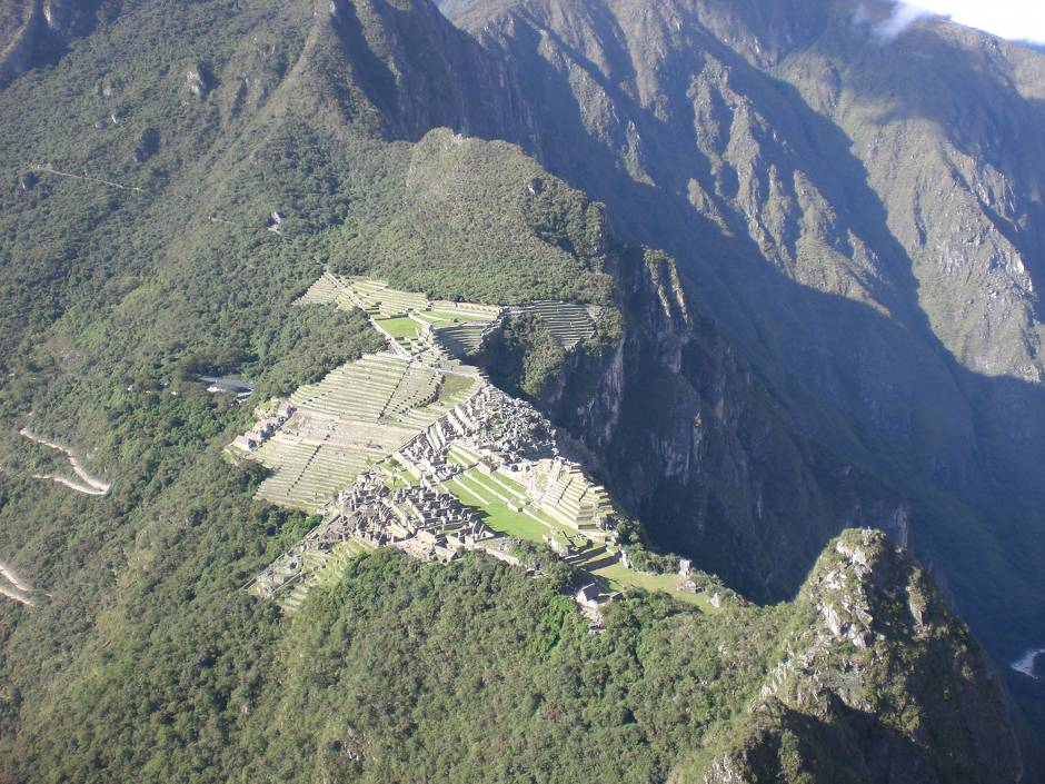 View of Machu Picchu from Wayna Picchu
