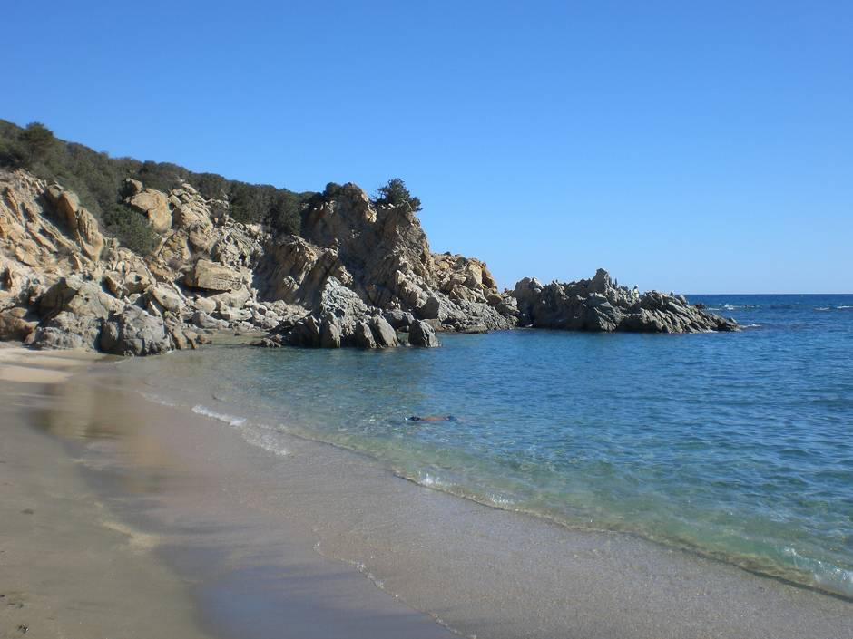 Feraxi, Muravera - one of the best beaches in Sardinia