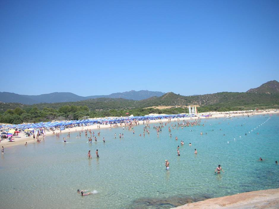 Sardinia best beaches include Costa Rei