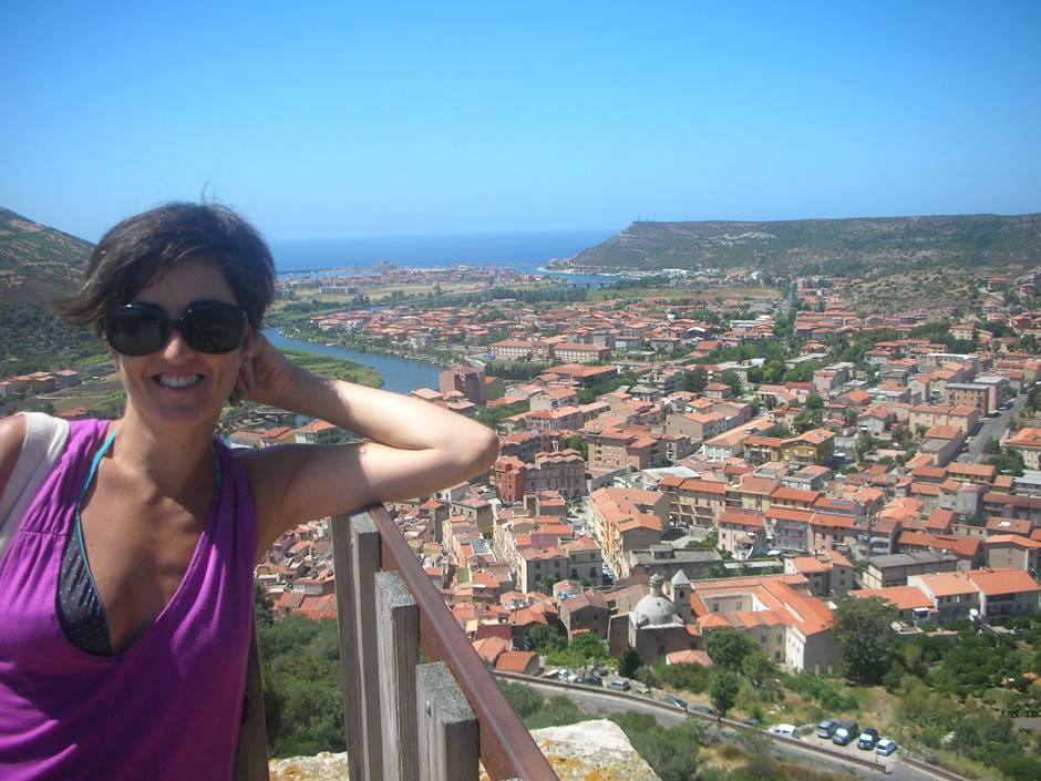 Visiting Bosa: what to do in Sardinia on a lazy afternoon - a view from the Malaspina Castle