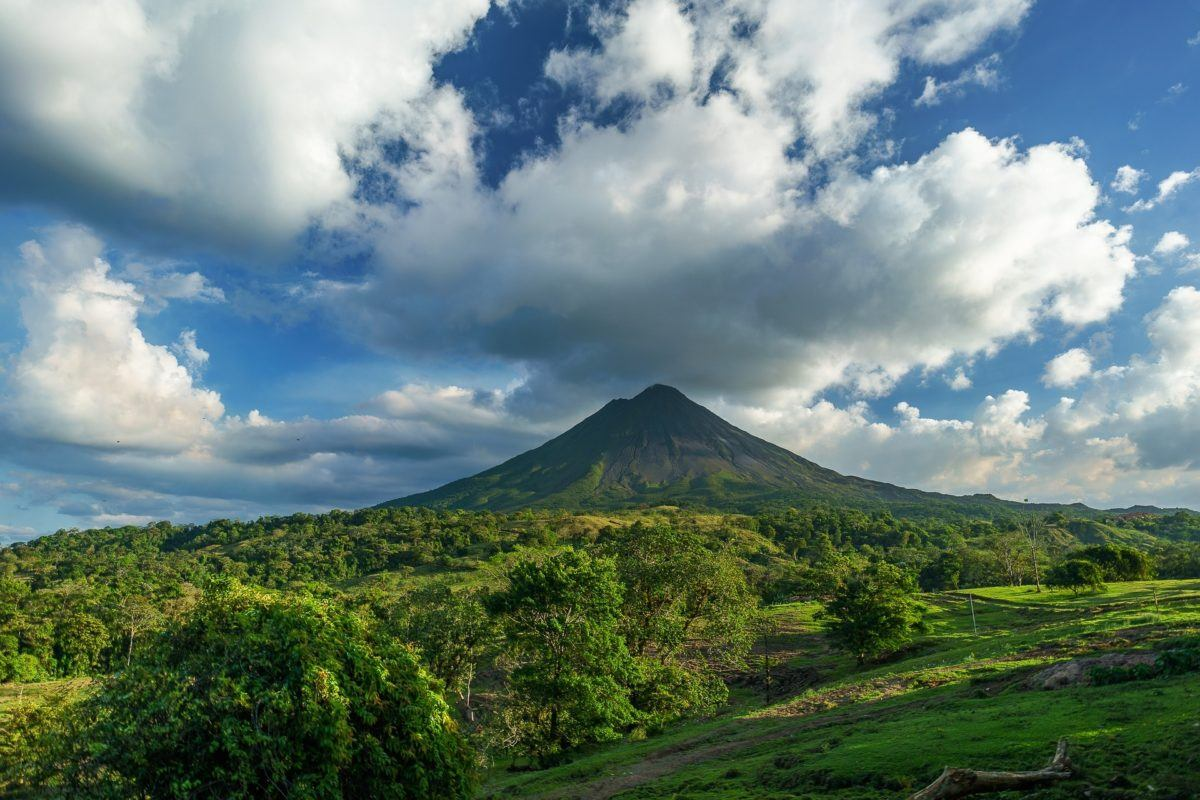 Nature and volcanoes in Costa Rica