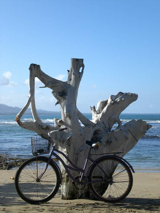 Biking in Puerto Viejo, Costa Rica
