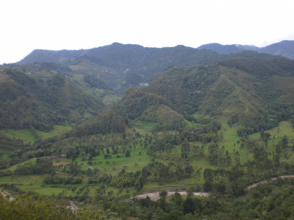 Places to visit in Colombia: Eje Cafetero, or else the Colombian version of Switzerland