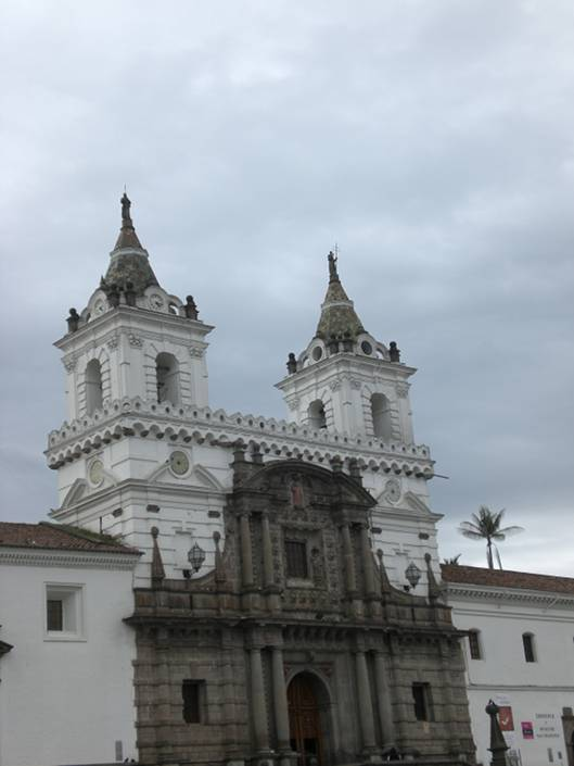 Quito Church, Ecuador
