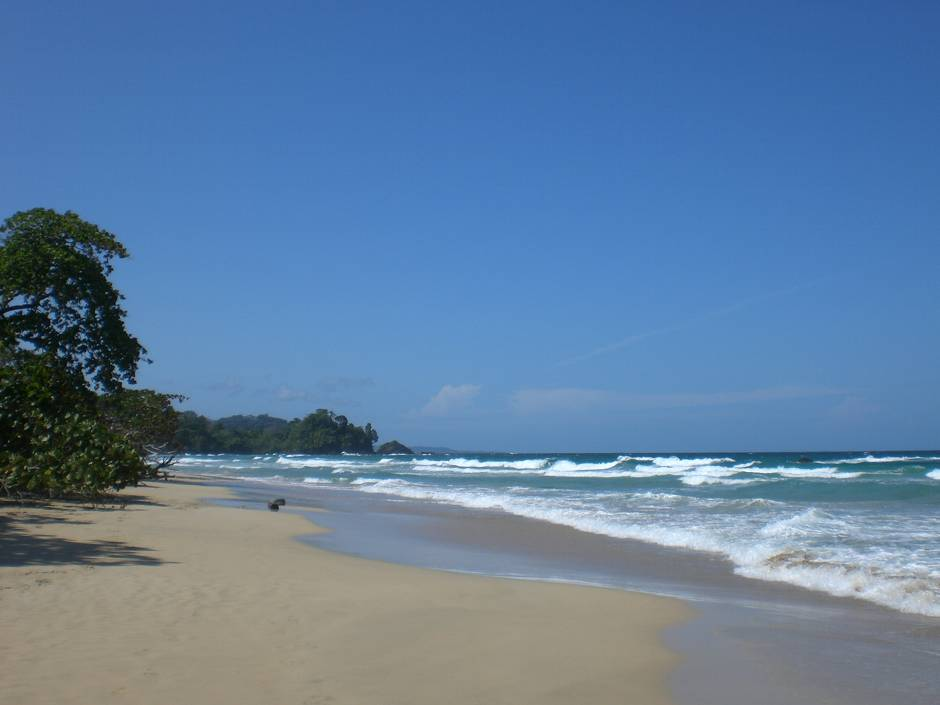 Red frog beach Bocas del Toro, Panama