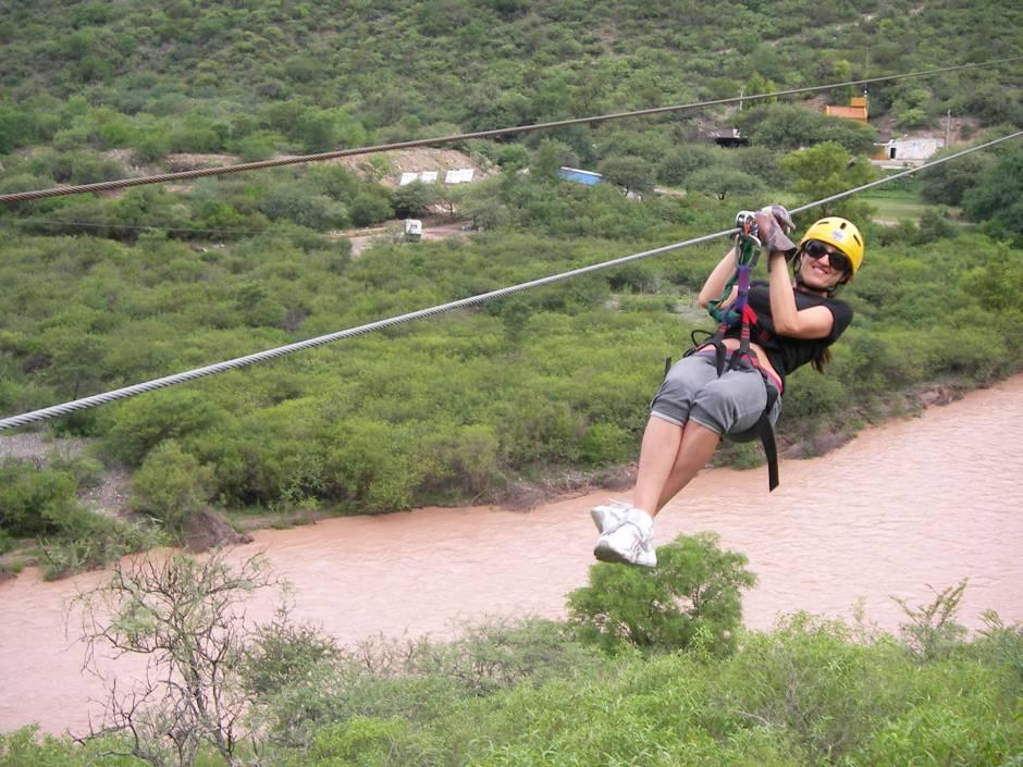 Ziplining, Argentina