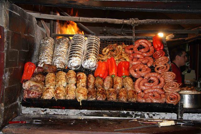 Eating a good asado at Mercado del Puerto of Montevideo IS a cultural experience