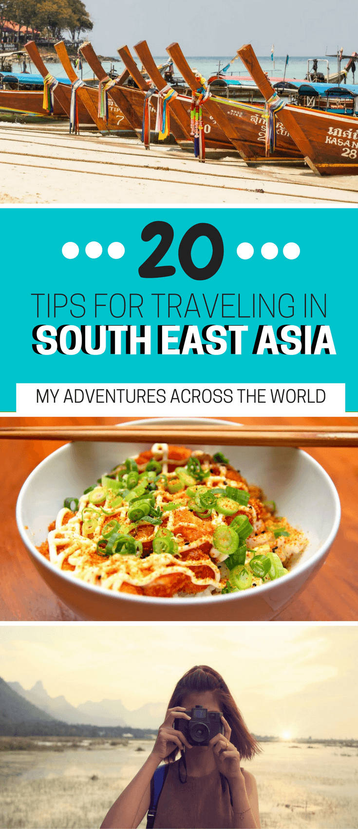 Discover all the tips to prepare for a trip to South East Asia - via @clautavani