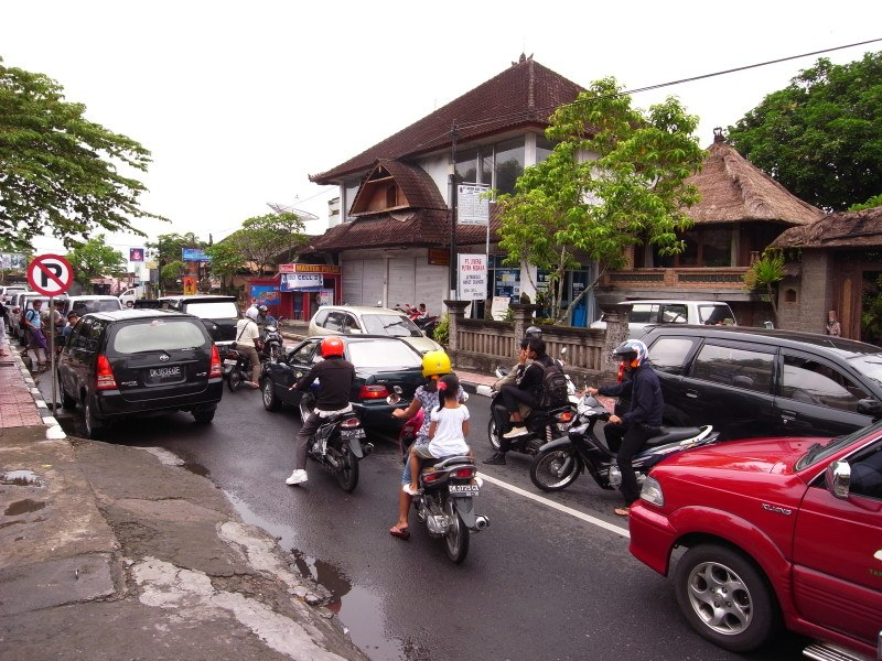 Traffic in Bali