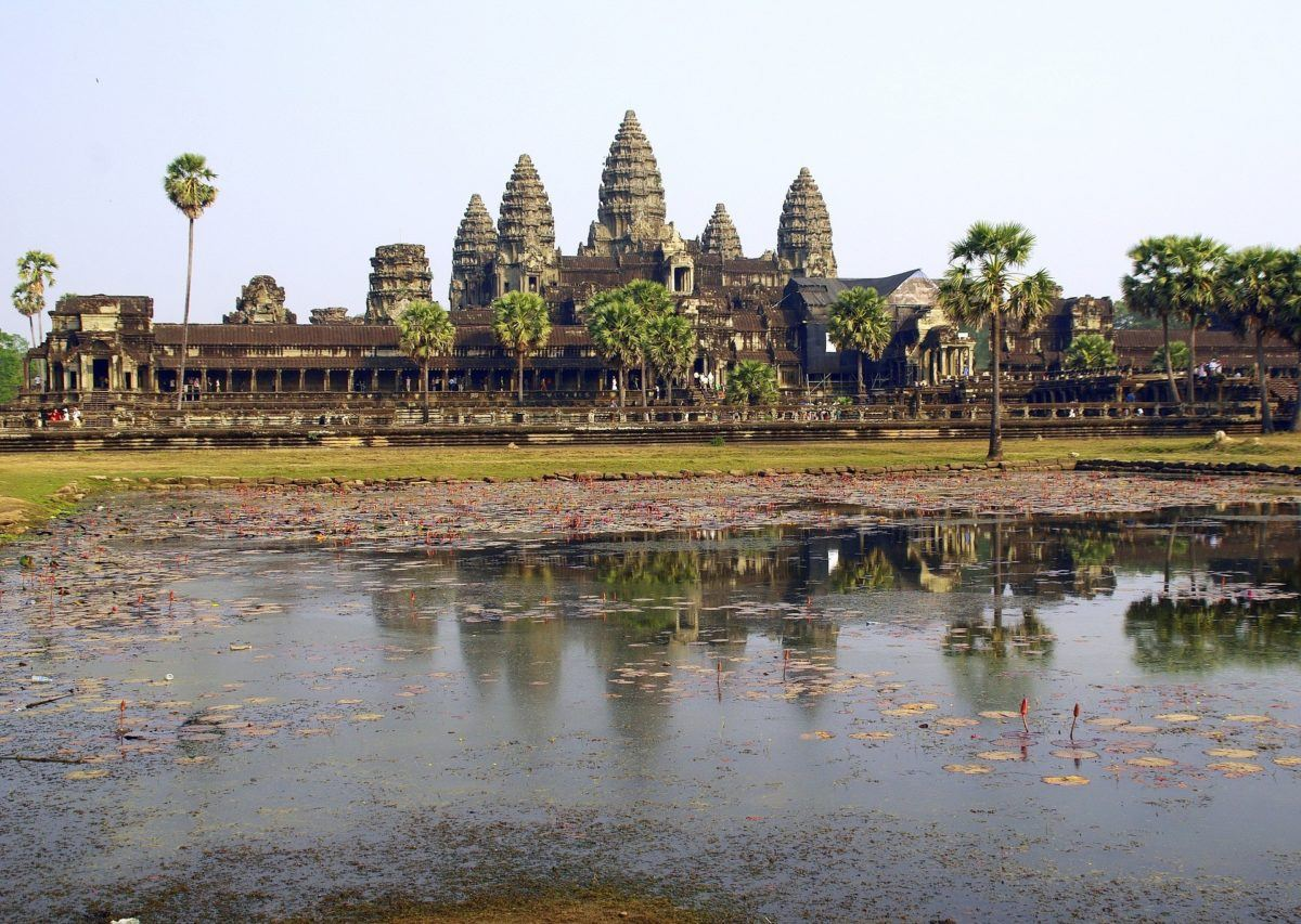 The gorgeous temples of Angkor Wat