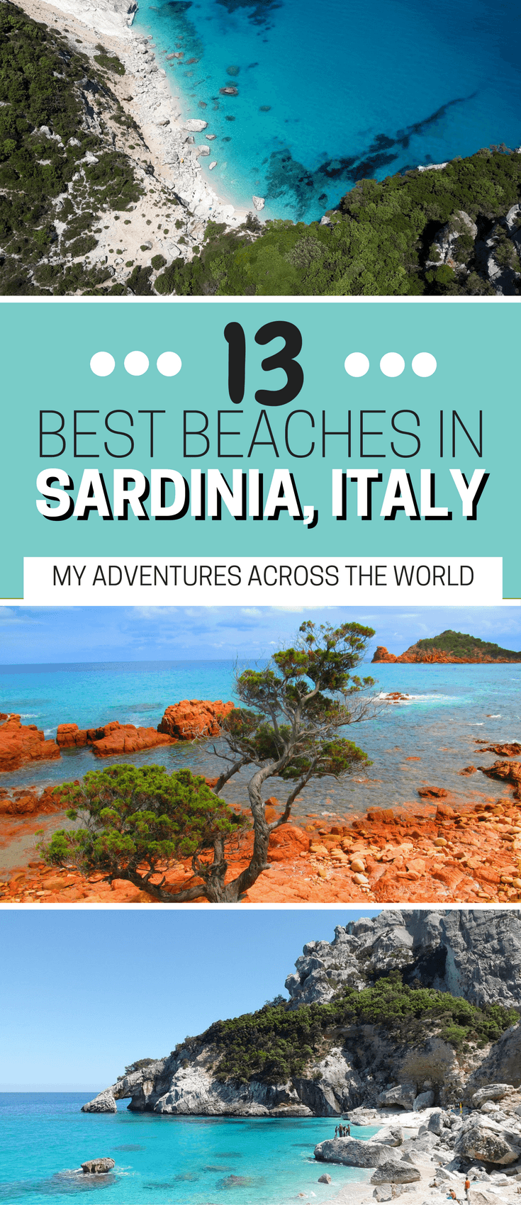 Discover the best beaches in Sardinia, Italy - via @clautavani