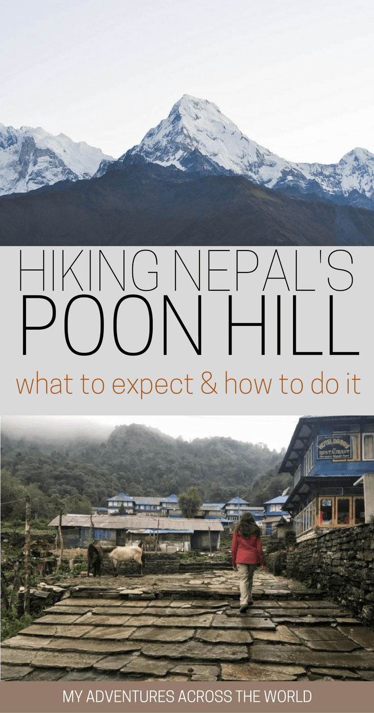 Find out what to expect when hiking Poon Hill, Nepal - via @clautavani