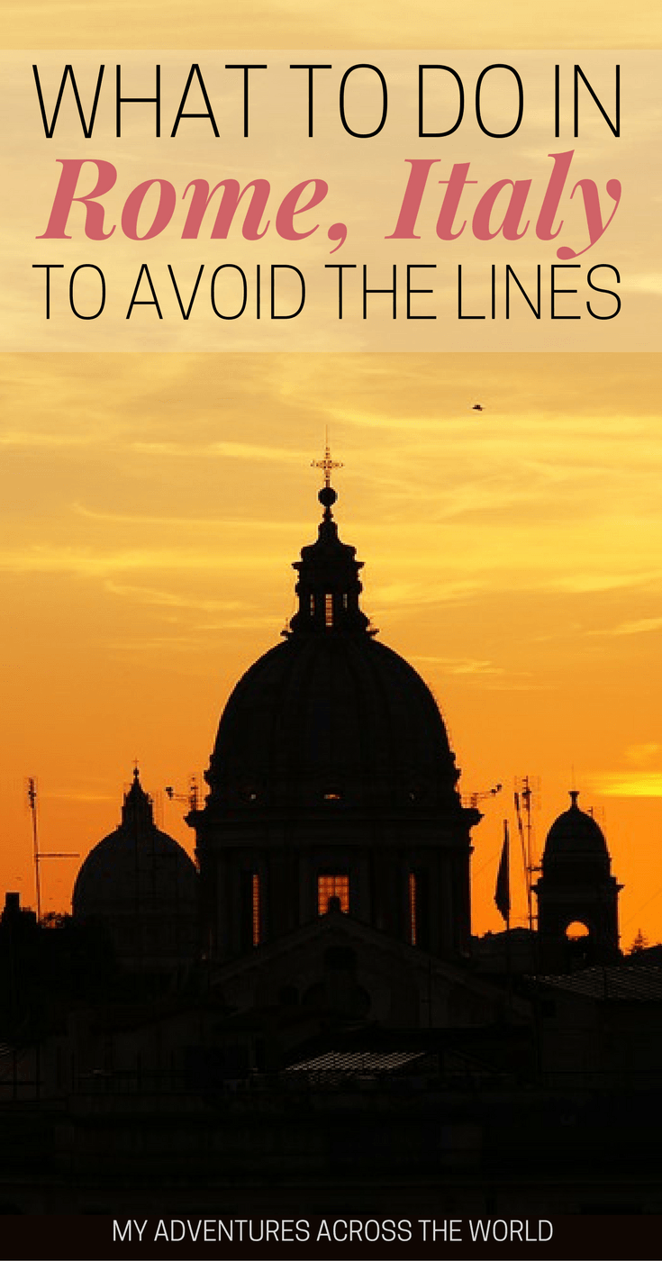 Learn what to do in Rome to avoid the lines - via @clautavani