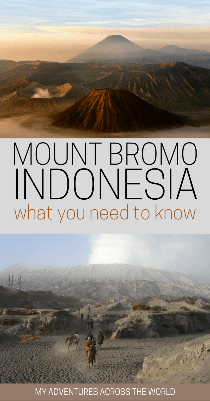 Discover what you need to know to visit Mount Bromo, Indonesia - via @clautavani