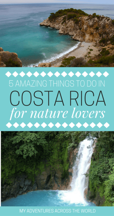 Find out the things to do in Costa Rica for nature lovers - via @clautavani
