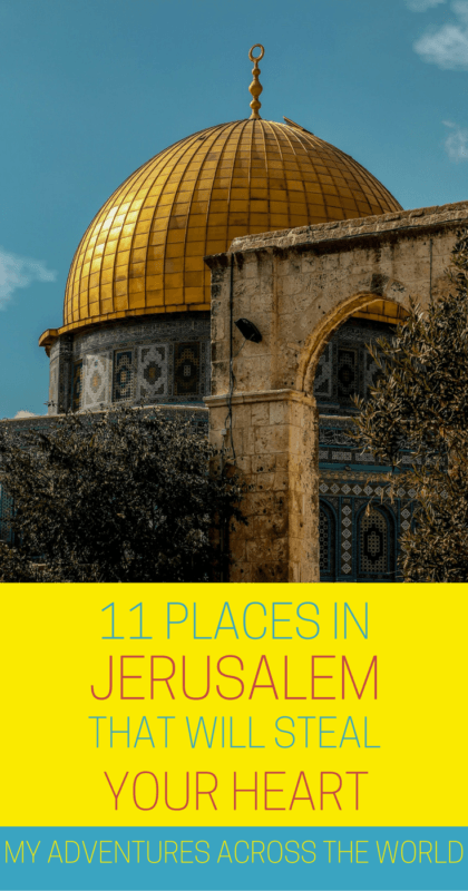 Find out what are the nicest places in Jerusalem - via @clautavani