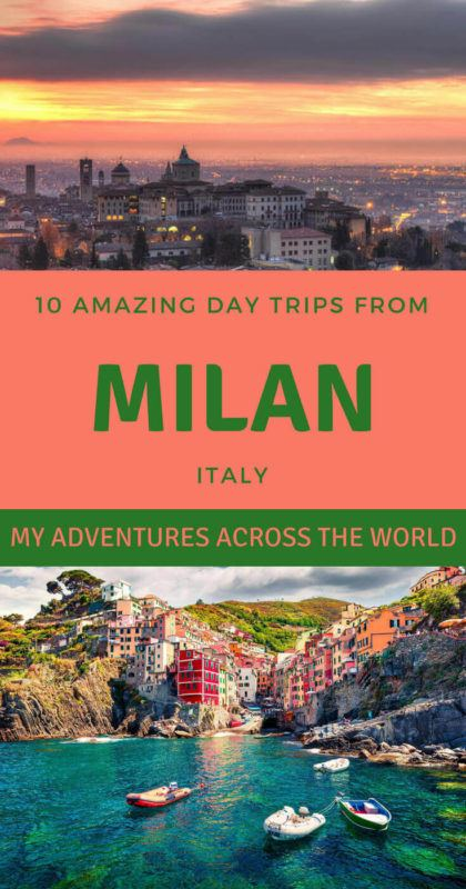Discover the best day trips from Milan - via @clautavani