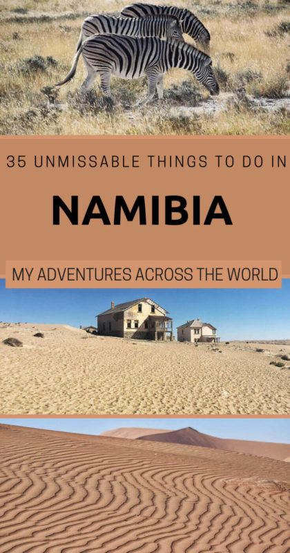 Find out the most incredible things to do in Namibia - via @clautavani