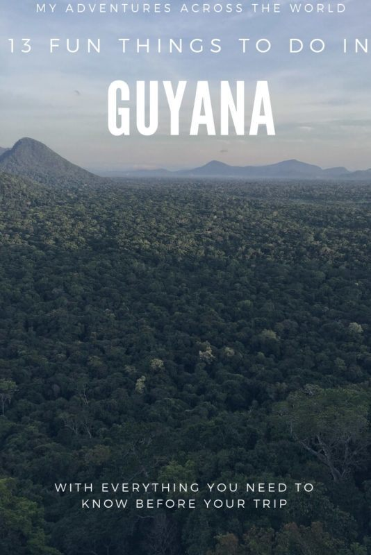 Discover the most amazing things to do in Guyana and a few trips for Guyana travel - via @clautavani